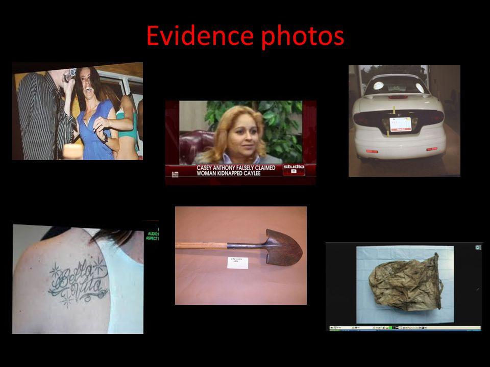 Evidence photos