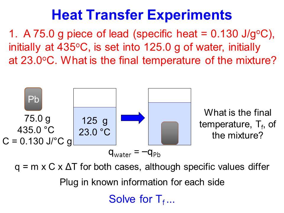 Heat Transfer Experiments