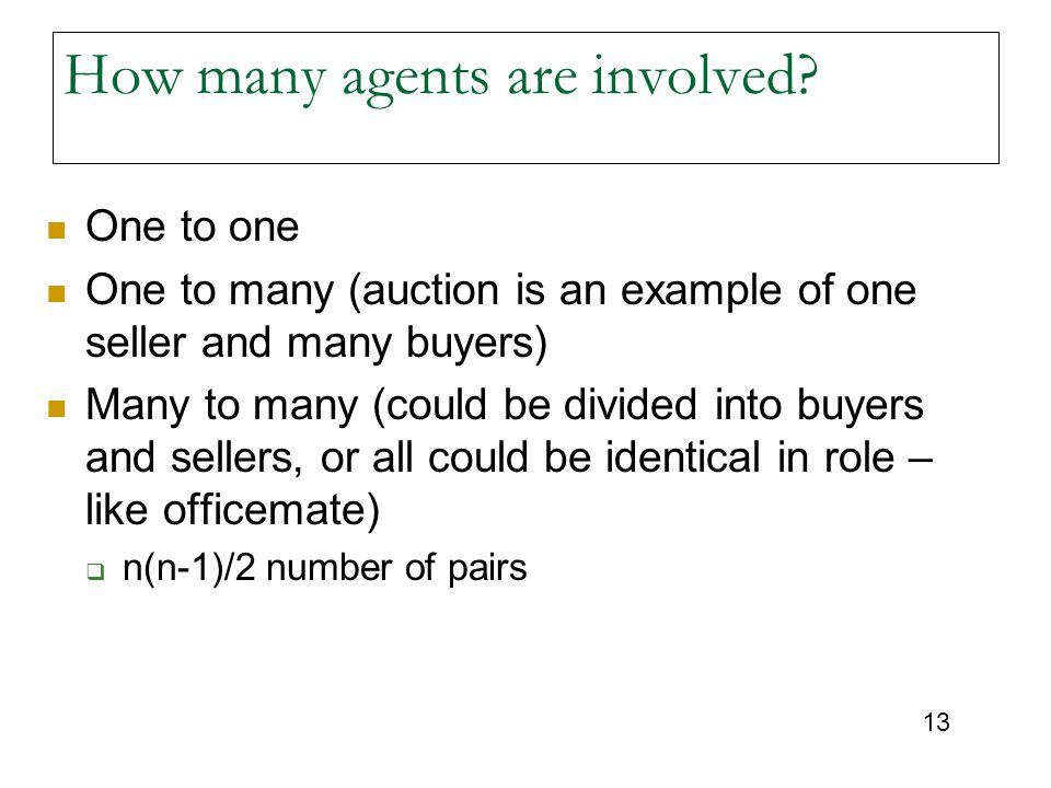 How many agents are involved