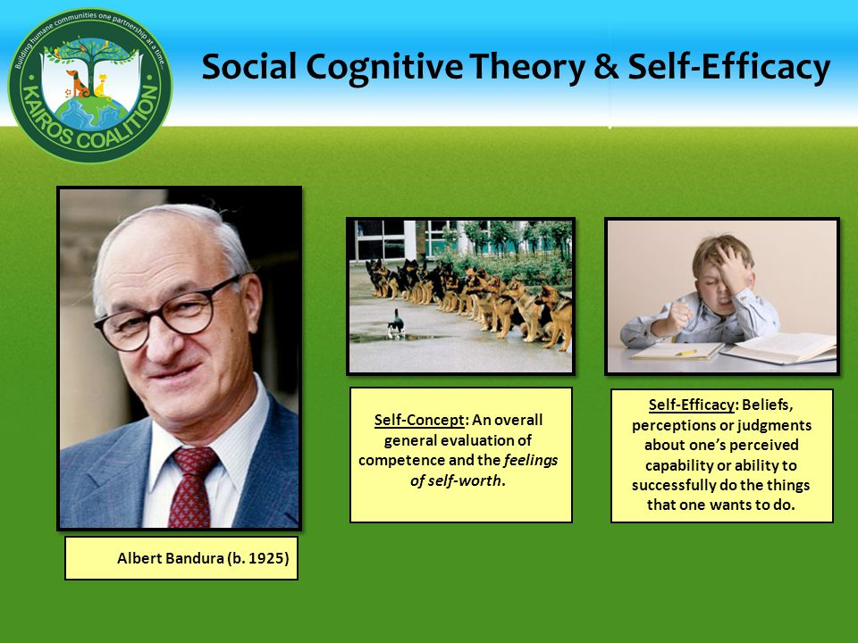 Social Cognitive Theory & Self-Efficacy