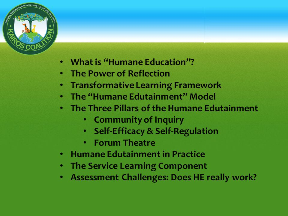 What is Humane Education