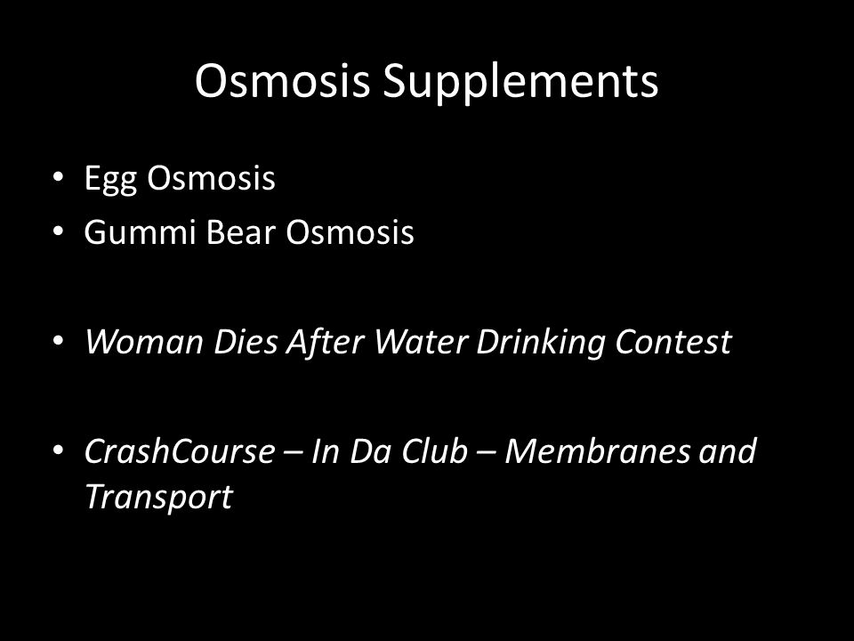 Osmosis Supplements Egg Osmosis Gummi Bear Osmosis