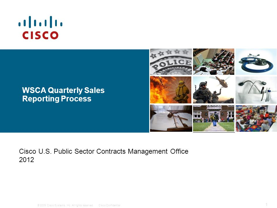 WSCA Quarterly Sales Reporting Process