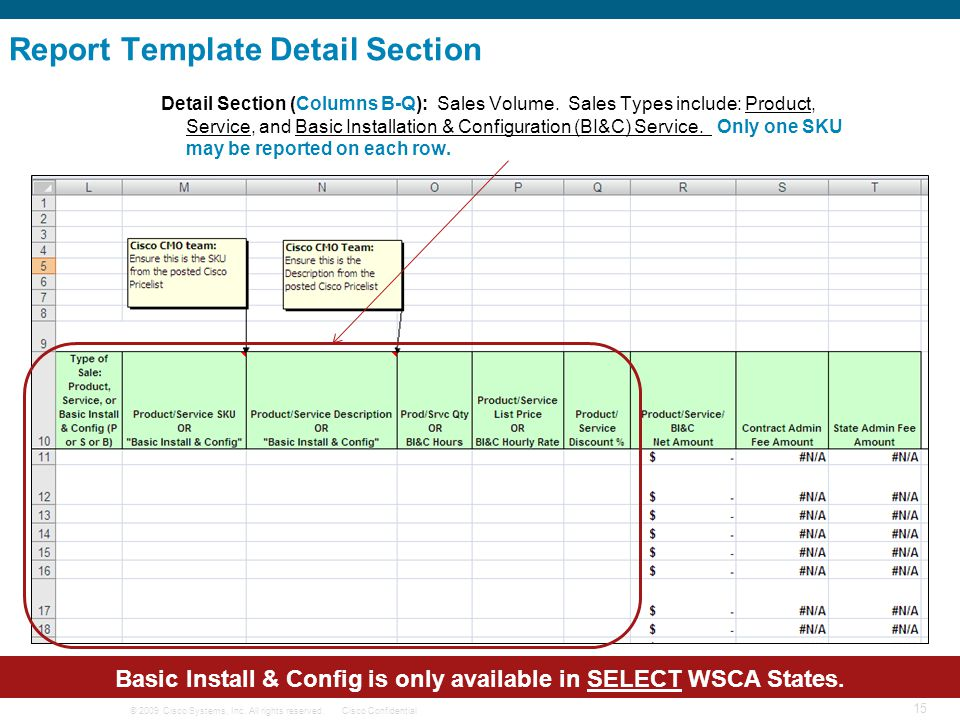 Basic Install & Config is only available in SELECT WSCA States.