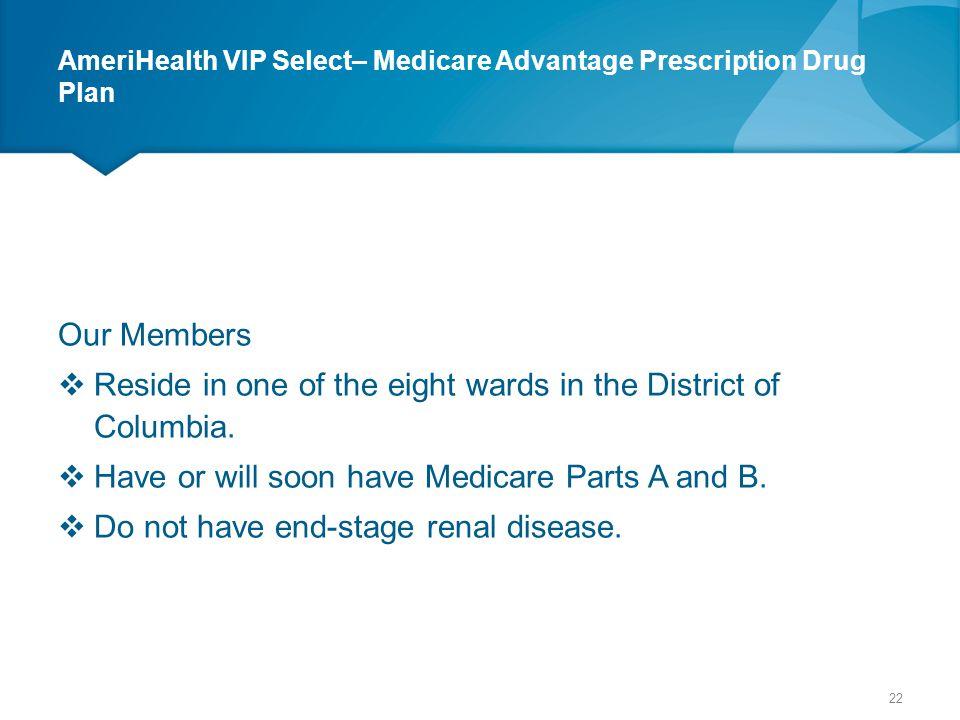 AmeriHealth VIP Select– Medicare Advantage Prescription Drug Plan