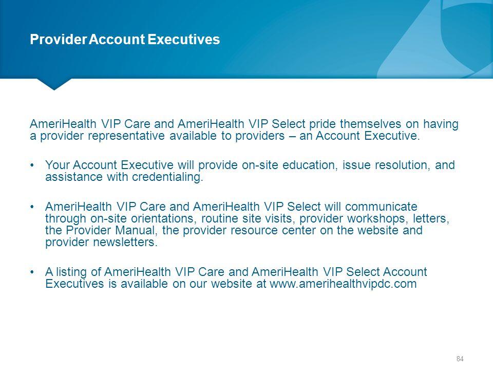 Provider Account Executives