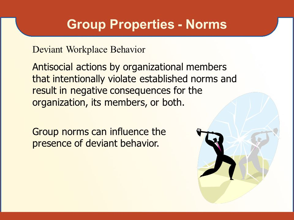 Group Properties - Norms