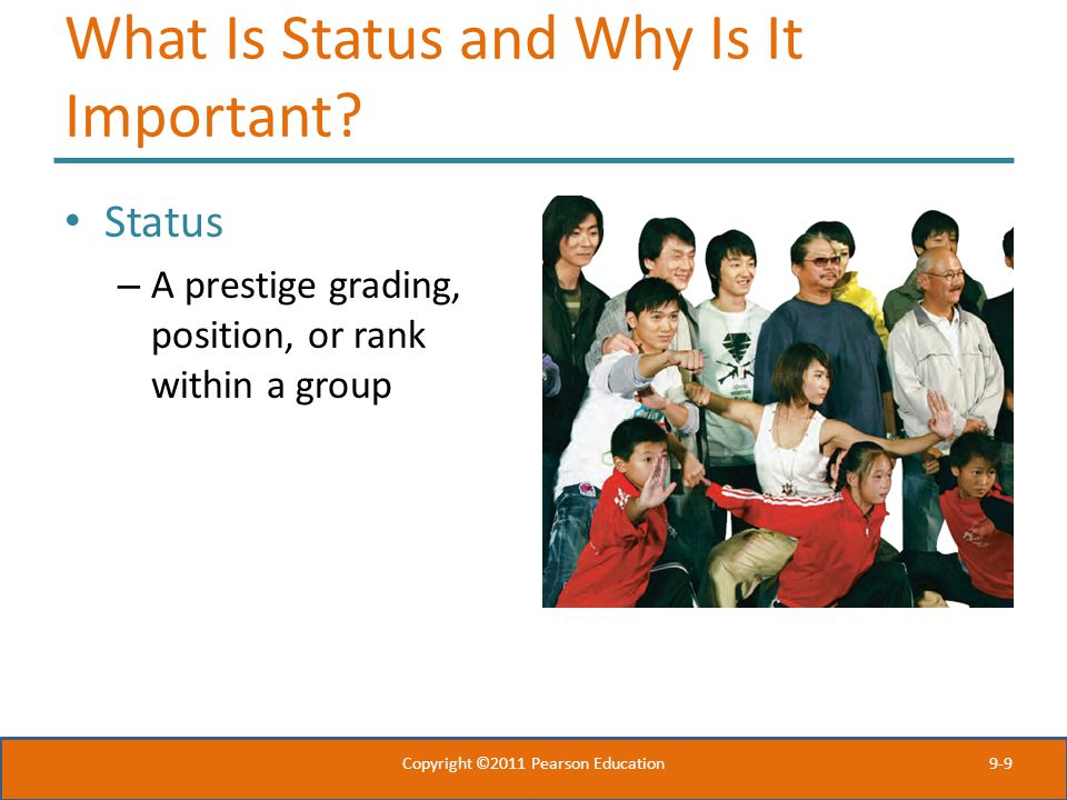 What Is Status and Why Is It Important