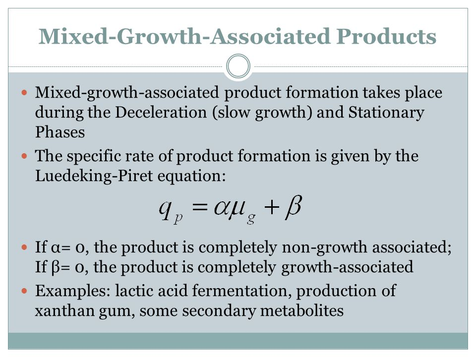 Mixed-Growth-Associated Products