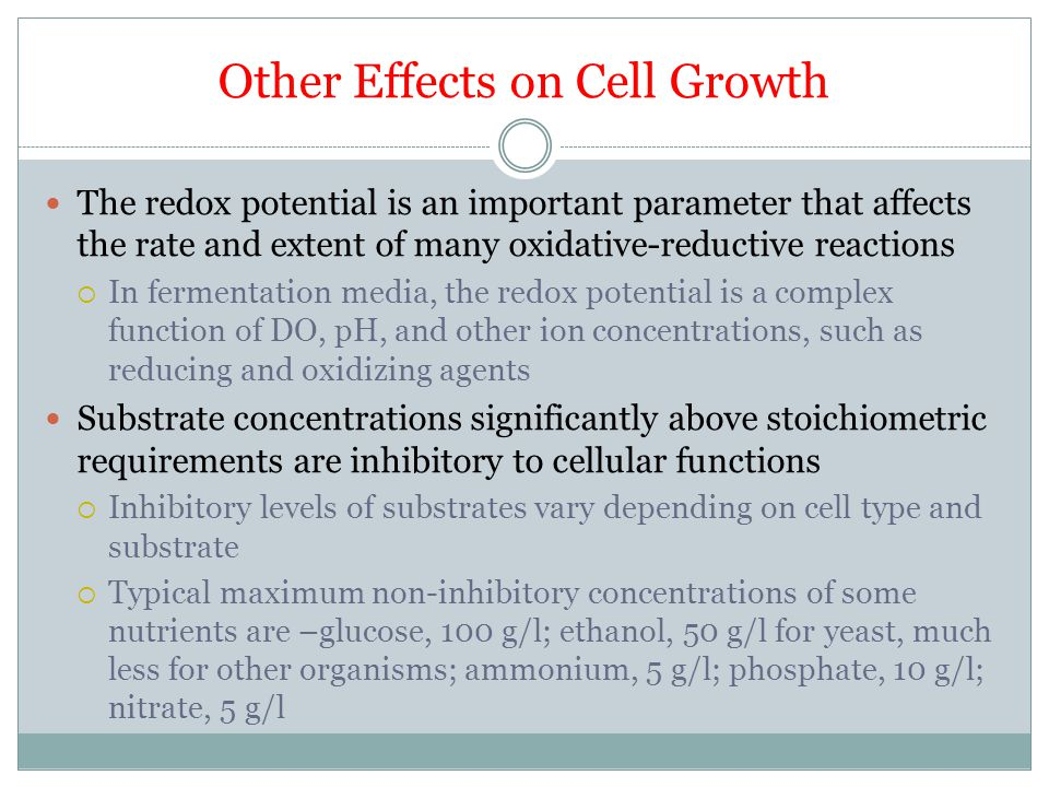 Other Effects on Cell Growth