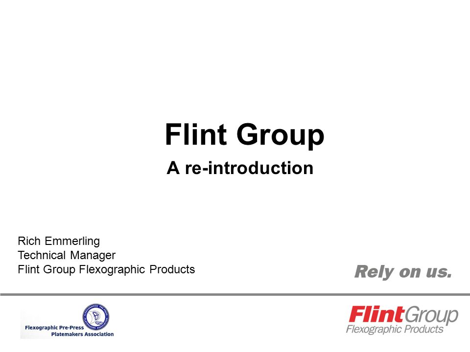 Flint Group A re-introduction