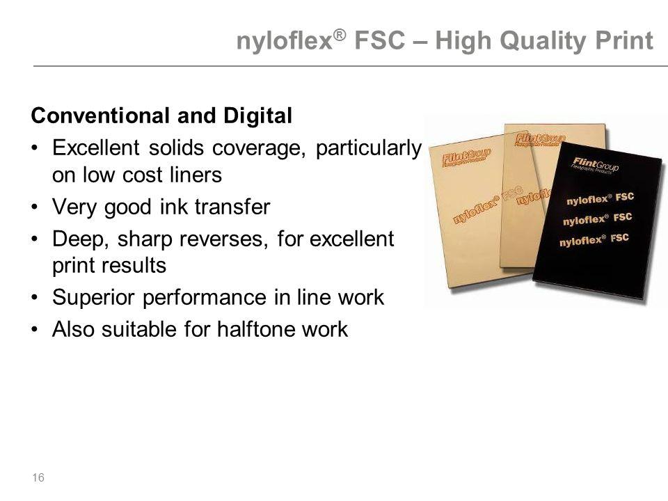 nyloflex® FSC – High Quality Print