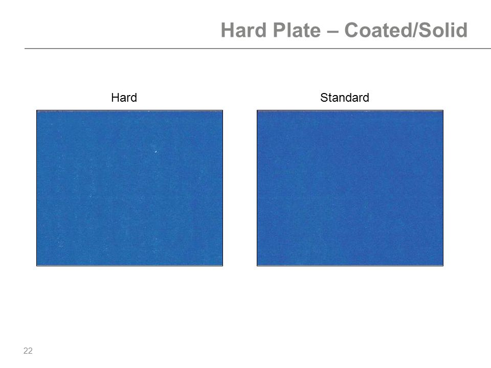 Hard Plate – Coated/Solid