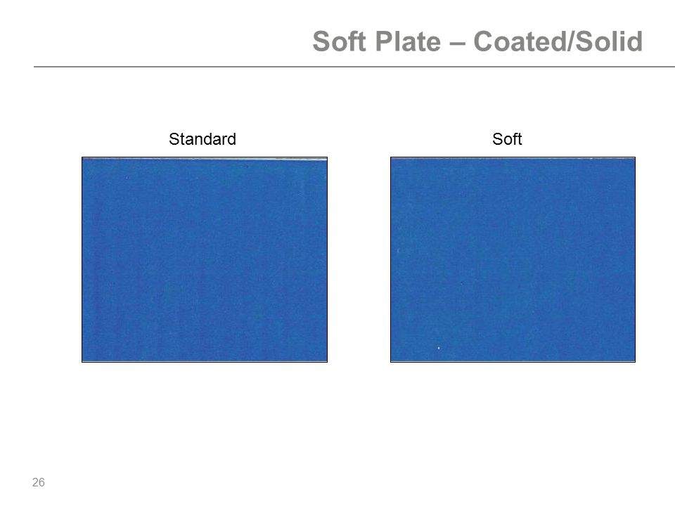 Soft Plate – Coated/Solid