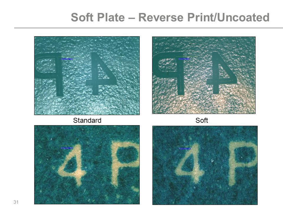 Soft Plate – Reverse Print/Uncoated