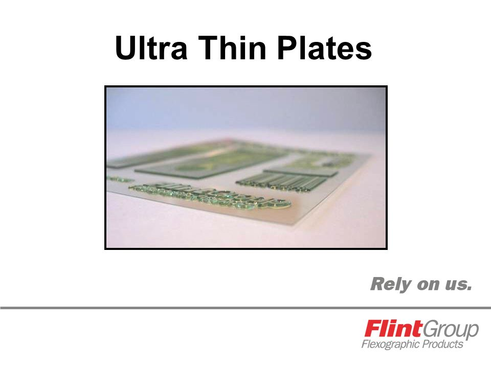 Ultra Thin Plates