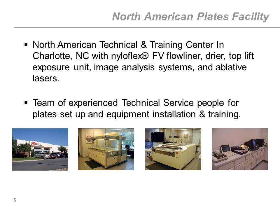 North American Plates Facility