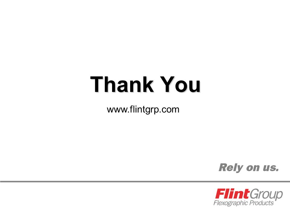 Thank You www.flintgrp.com