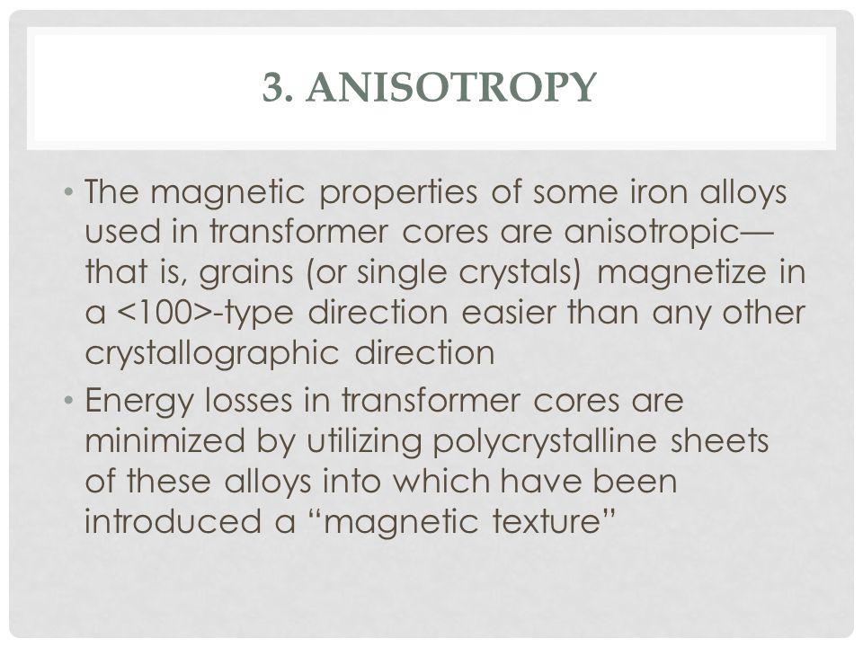 3. Anisotropy