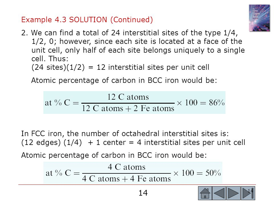 Example 4.3 SOLUTION (Continued)