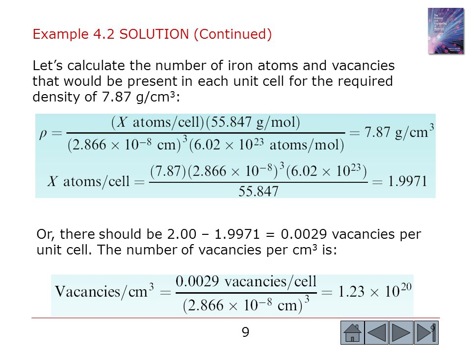 Example 4.2 SOLUTION (Continued)