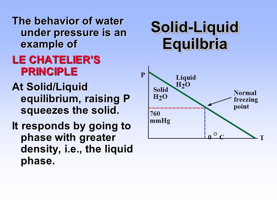 Solid-Liquid Equilbria