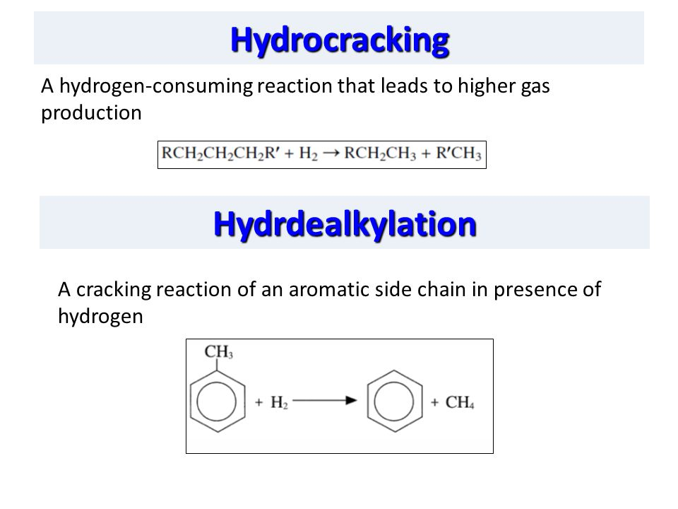 Hydrocracking Hydrdealkylation