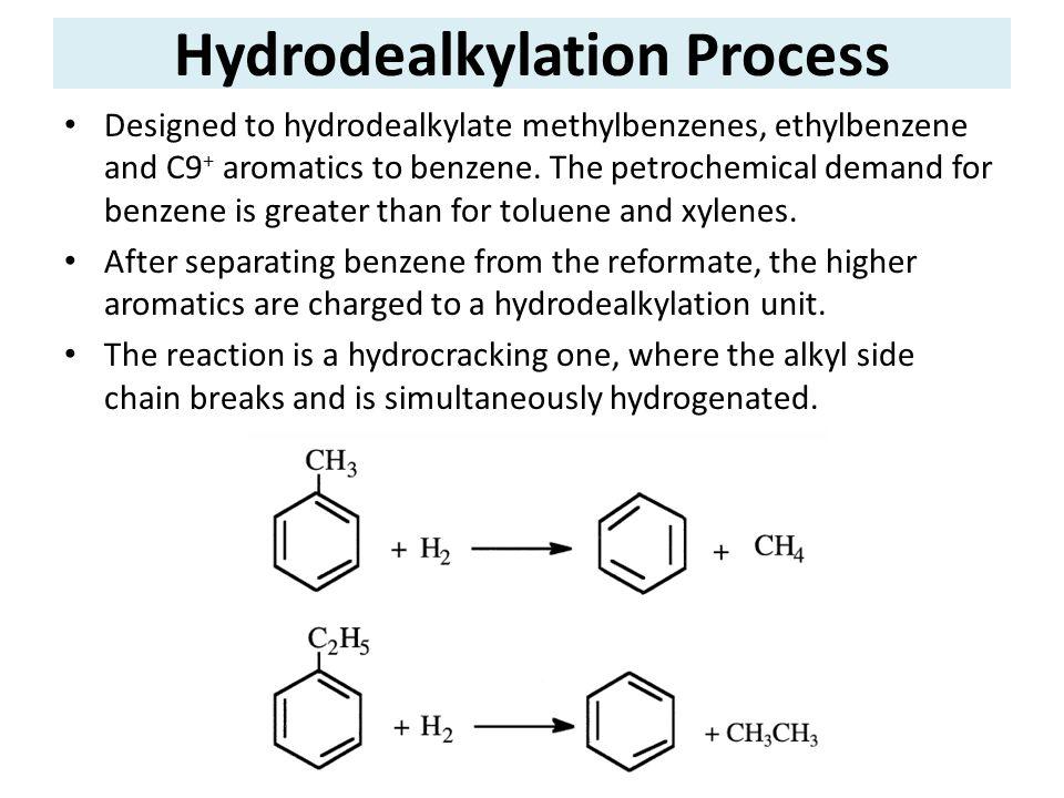 Hydrodealkylation Process