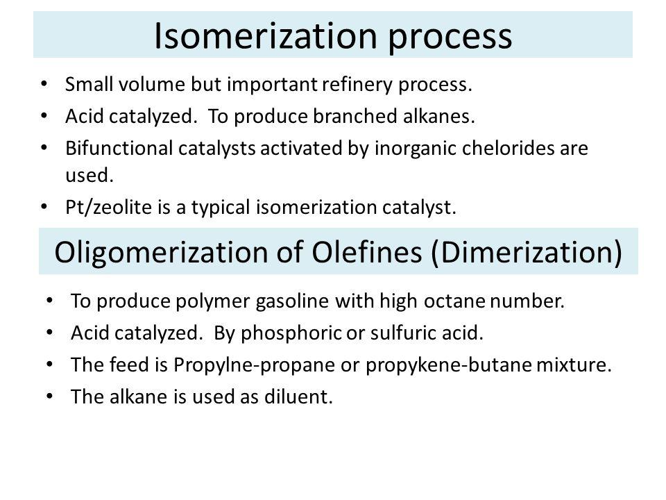Isomerization process