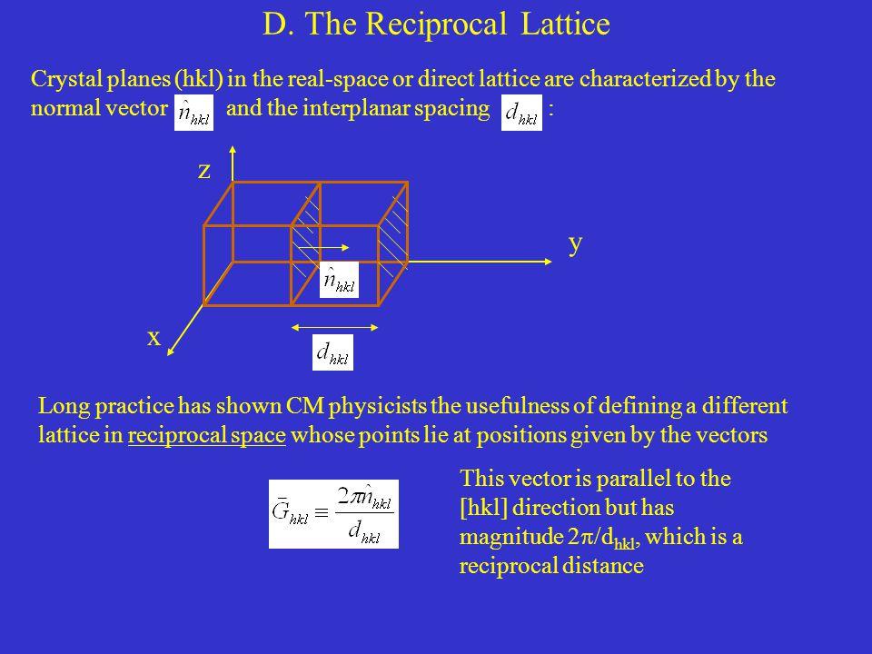 D. The Reciprocal Lattice