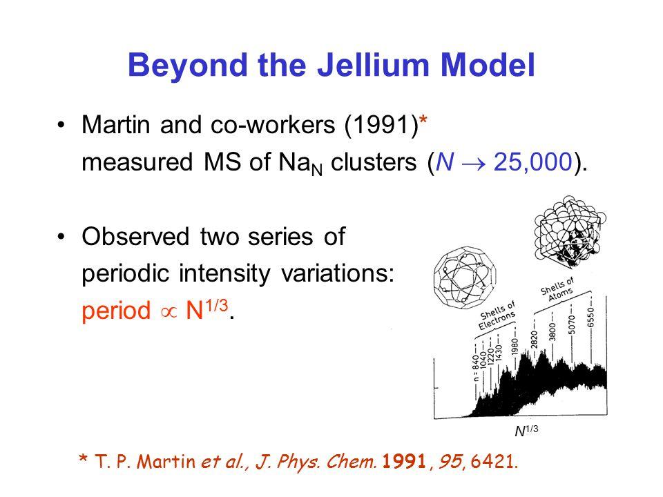 Beyond the Jellium Model