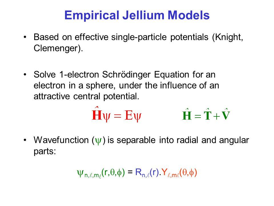Empirical Jellium Models