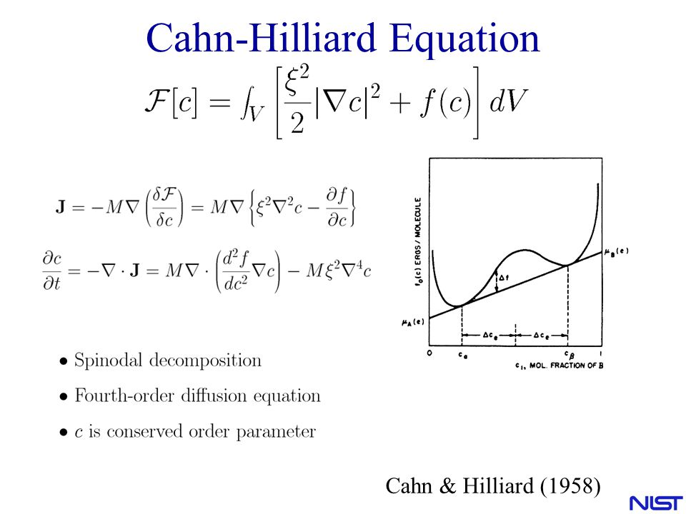 Cahn-Hilliard Equation