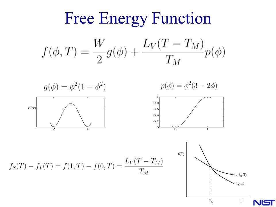 Free Energy Function