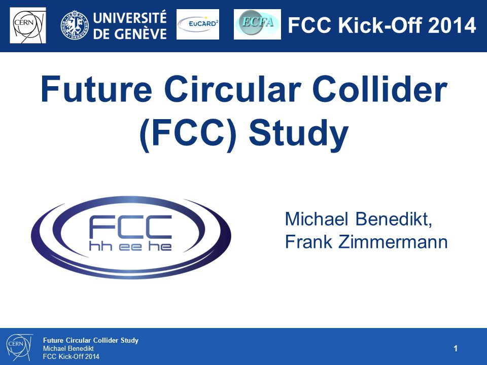 Future Circular Collider (FCC) Study