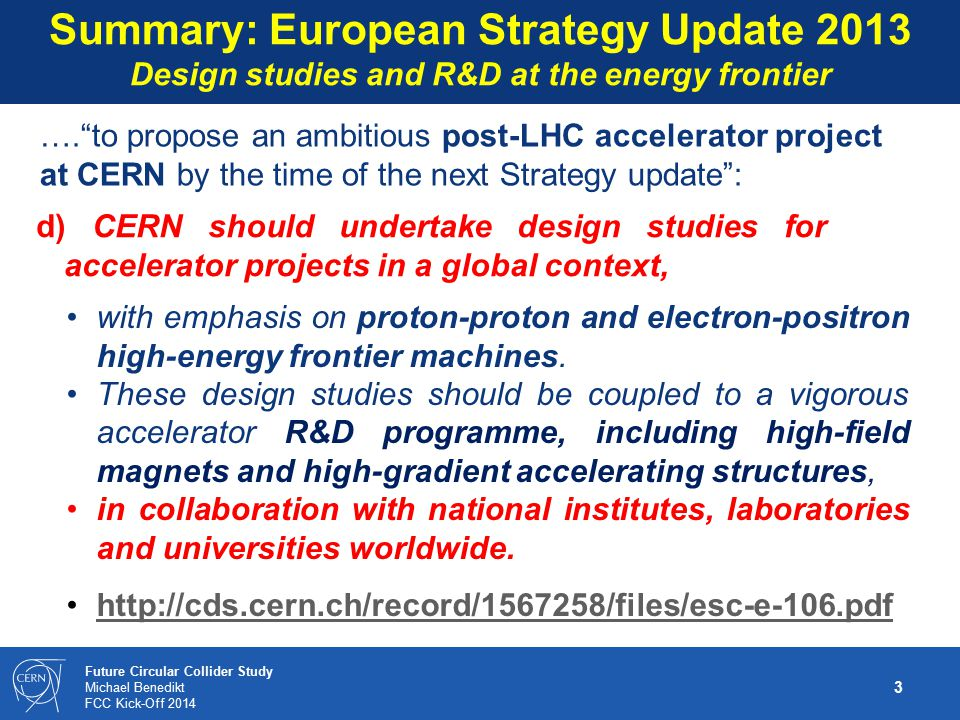 Summary: European Strategy Update 2013