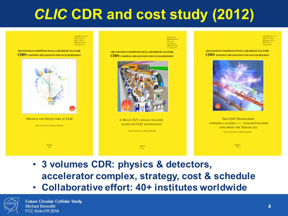 CLIC CDR and cost study (2012)