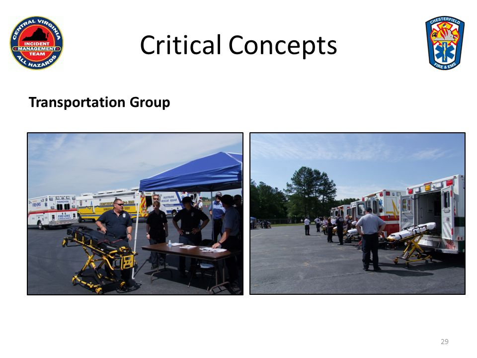 Critical Concepts Transportation Group