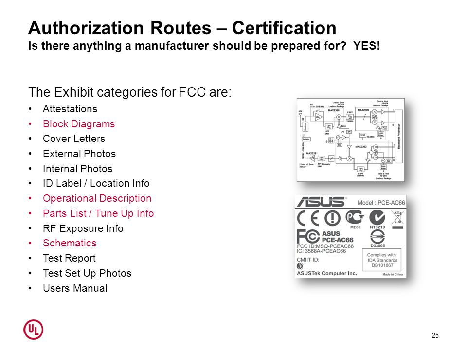Authorization Routes – Certification Is there anything a manufacturer should be prepared for YES!