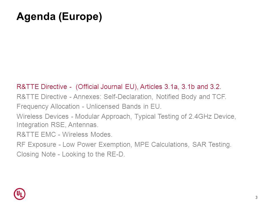 Agenda (Europe)