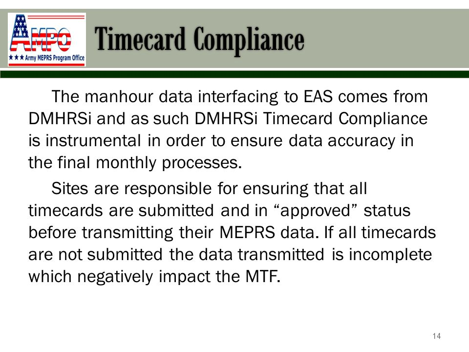 DoD Batch and Timecard Compliance Report