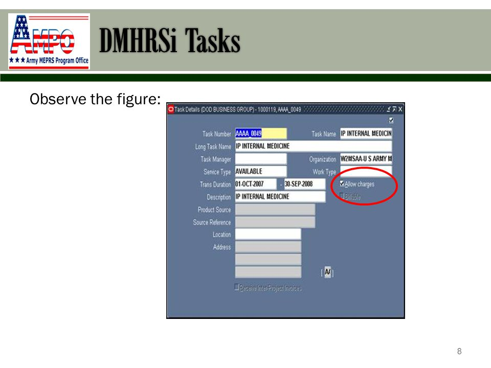 DMHRSi Tasks Section 2