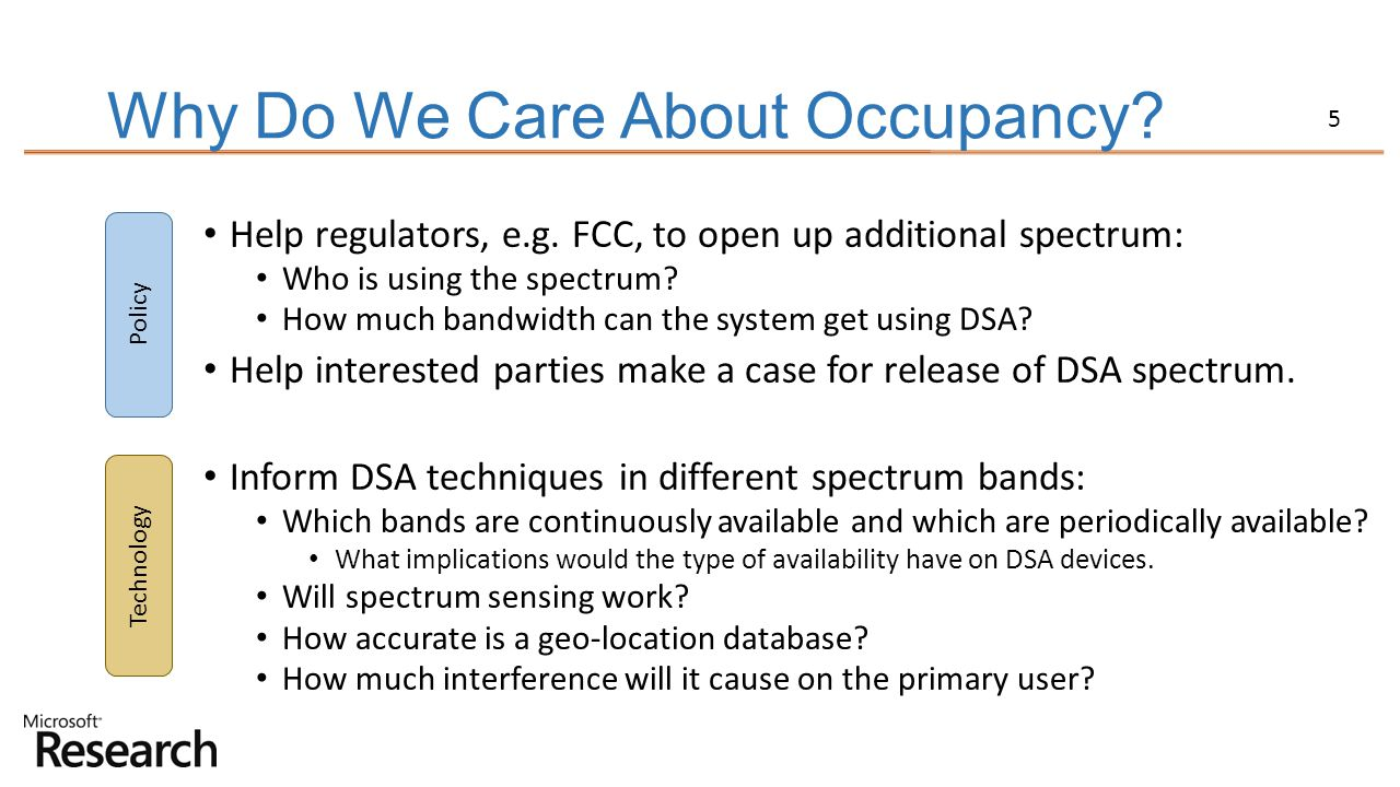 Why Do We Care About Occupancy