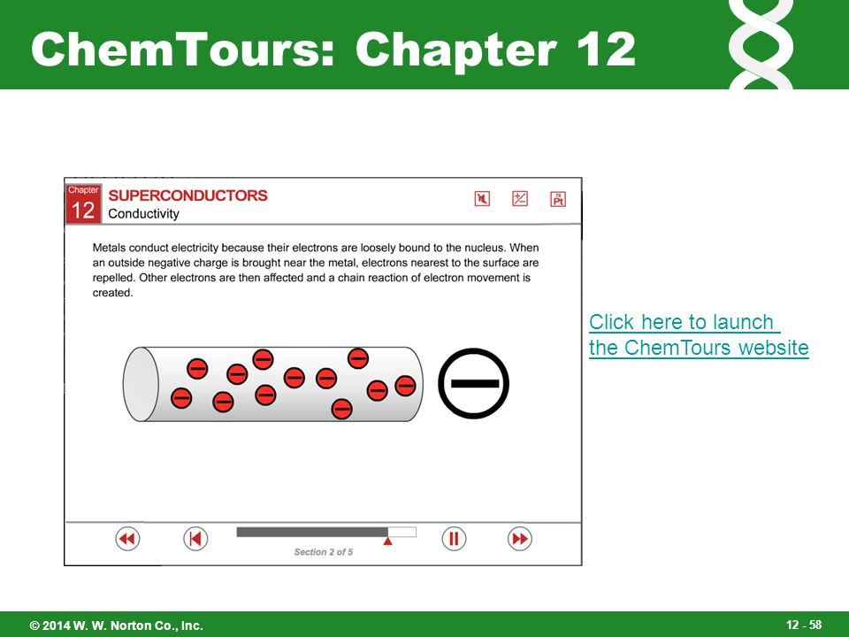 ChemTours: Chapter 12 Click here to launch the ChemTours website