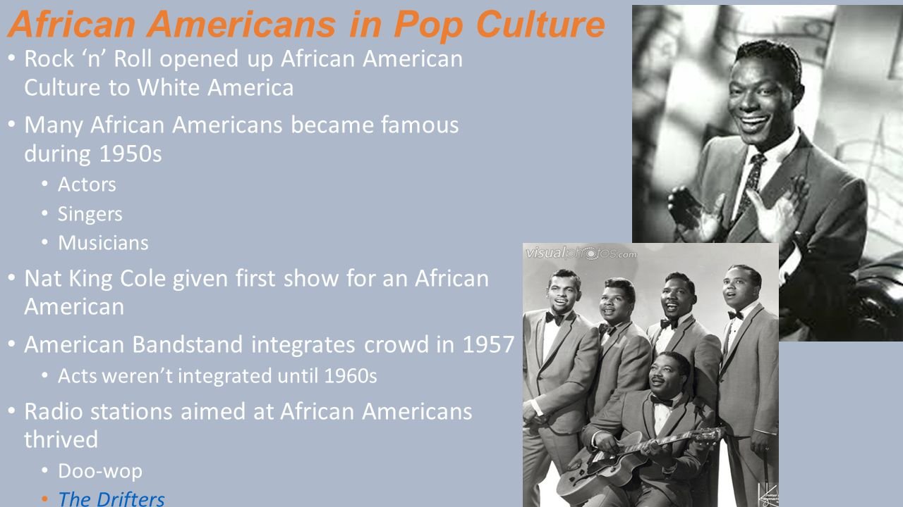 African Americans in Pop Culture