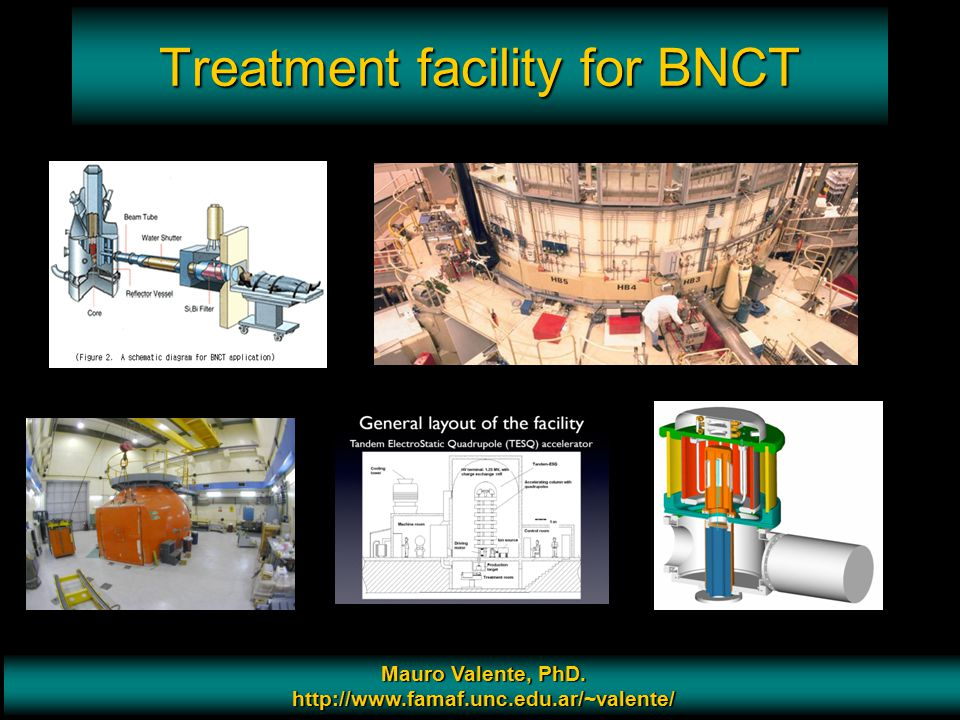 Treatment facility for BNCT