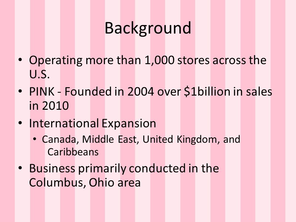 Background Operating more than 1,000 stores across the U.S.