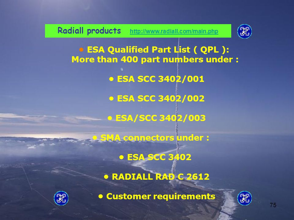 Radiall products http://www.radiall.com/main.php
