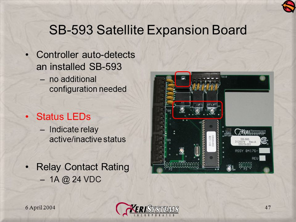 SB-593 Satellite Expansion Board