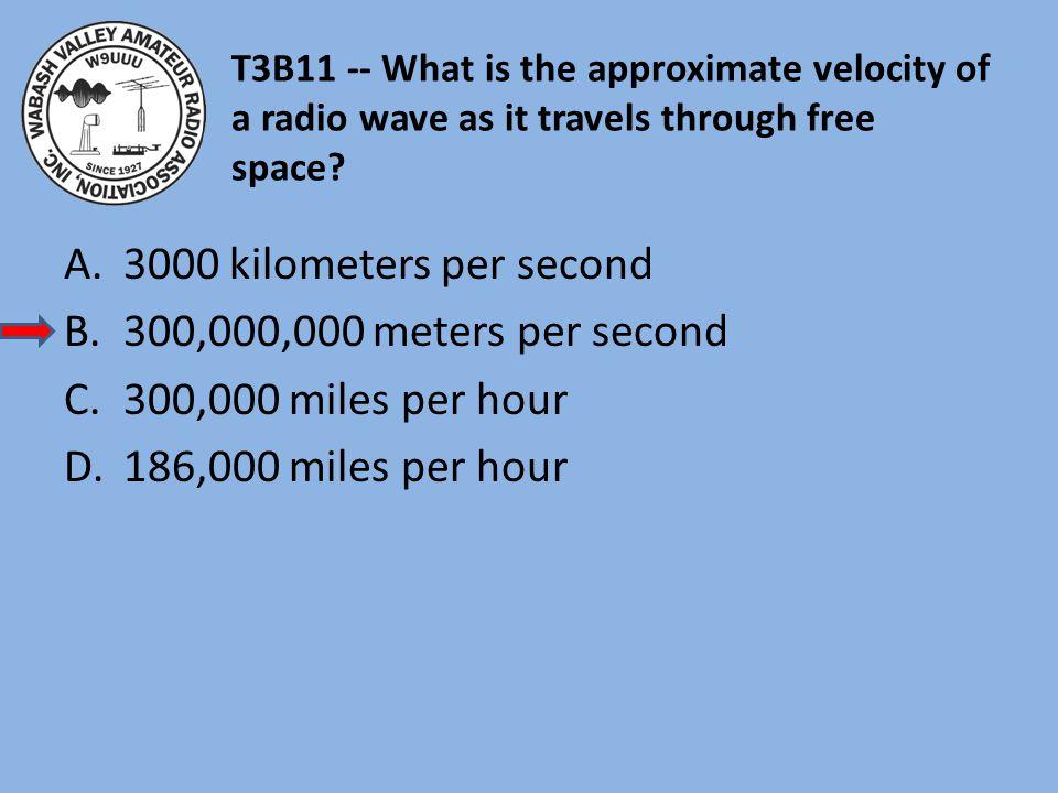 3000 kilometers per second 300,000,000 meters per second